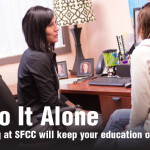 Don't Go It Alone:  Academic advising at SFCC will keep your education on the right track